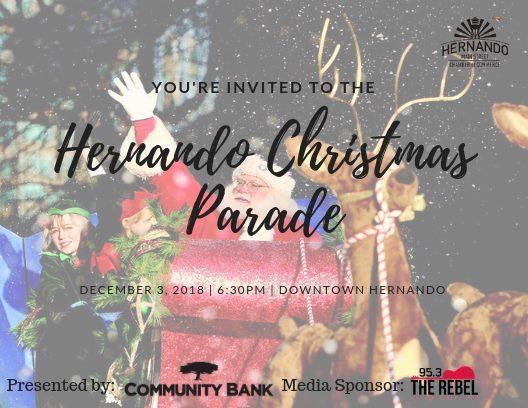 Hernando Christmas Parade 2020 Hernando Christmas Parade   Hernando Main Street Chamber of